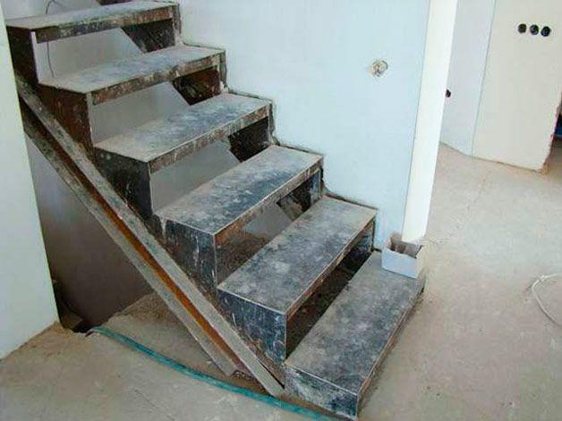 Металлические ступени