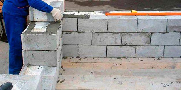 Стройка дома своими руками из пеноблоков фото