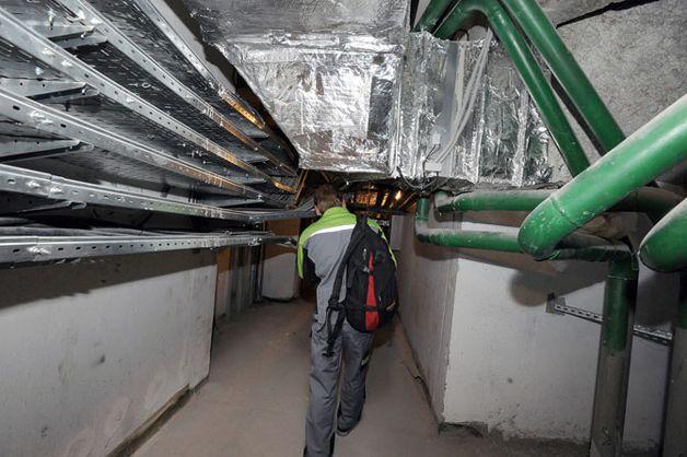 Оборудование под крышей
