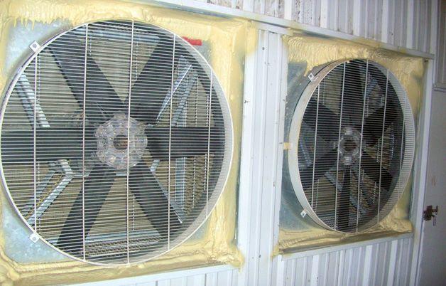 Два вентилятора