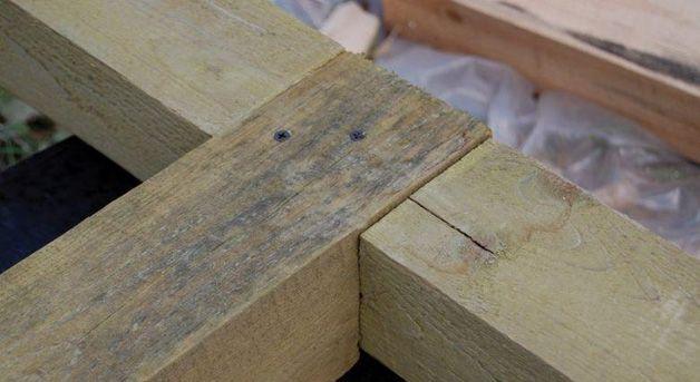 Каркас из древесины