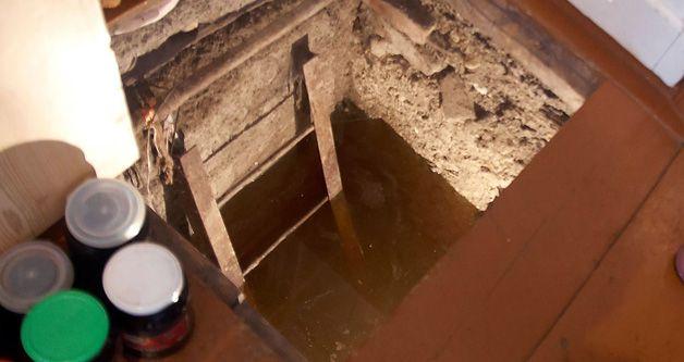 Вода в погребе