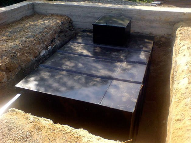 Погреб в яме