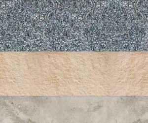 Подготовка подушки из песка и щебня