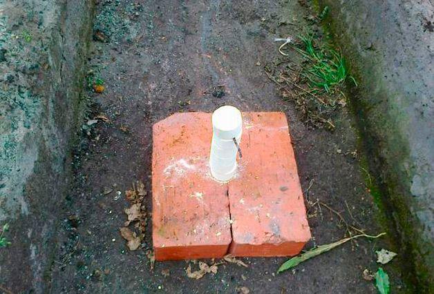 Обработка погреба серой