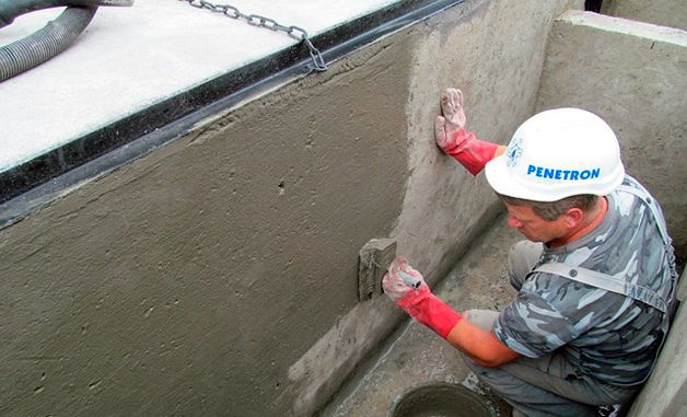 Проникающий в бетон состав