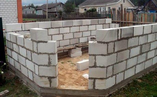 Стены из блоков