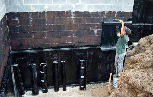 Как сделать гидроизоляцию подвала Строительство