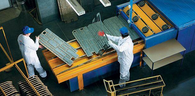 Производство цокольных панелей