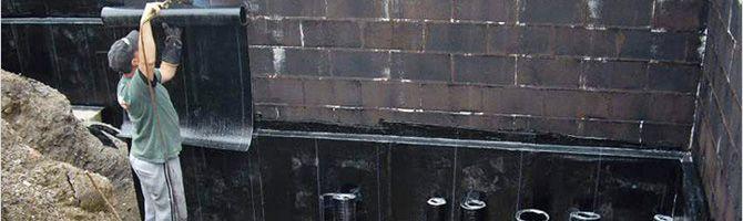 Гидроизоляция стен подвала