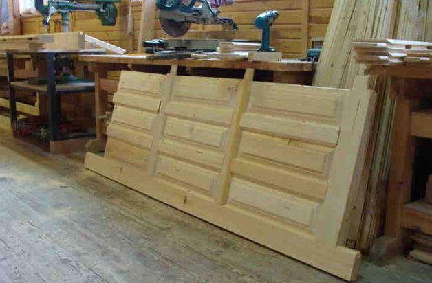 Изготовление деревянной двери своими руками: видео