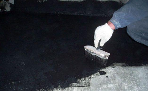 Гидроизоляция пола в подвале
